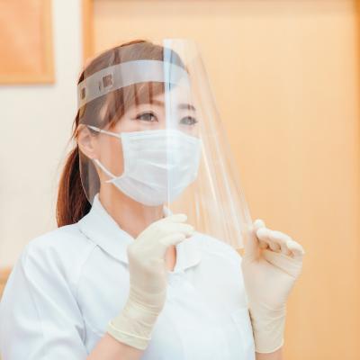 病院での検温・案内業務